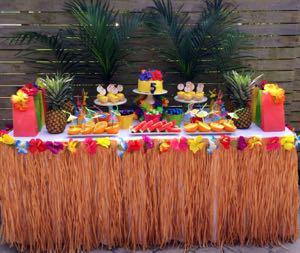Como Decorar Uma Festa Havaiana Decorando Casas