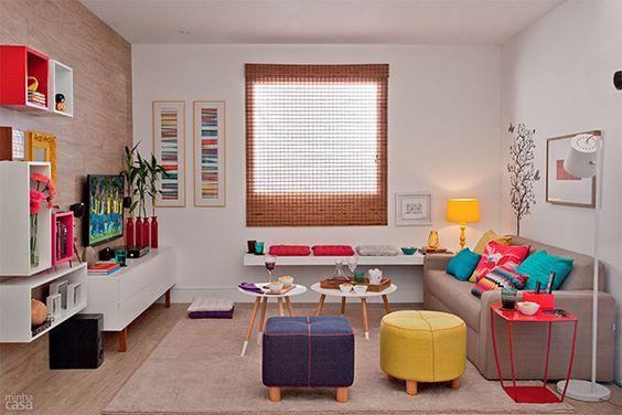 Decoracao de sala simples e aconchegante – doitri.com