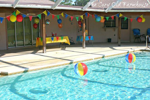 Como fazer uma festa na piscina