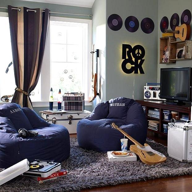 Decoração-de-quarto-com-estilo-rock