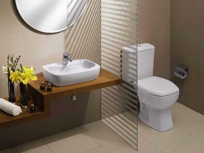 Decora o para banheiro pequeno e simples decorando casas - Amueblar piso pequeno barato ...