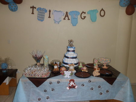 Decoração para chá de bebê simples e barato