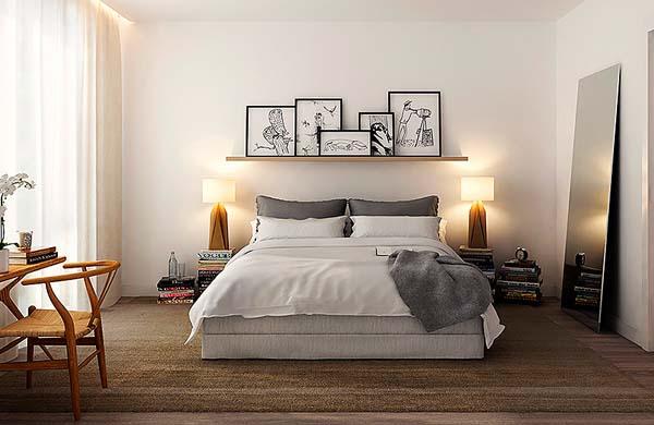Decoraç u00e3o para quarto de casal em 2016 Decorando Casas -> Fotos De Decoração De Quarto De Casal Grande