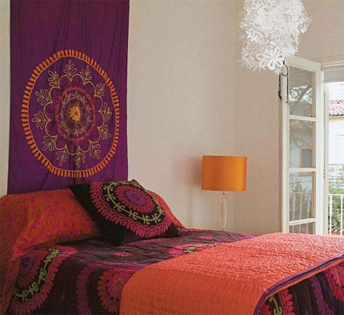 Decoração-quarto-com-estilo-Indiano