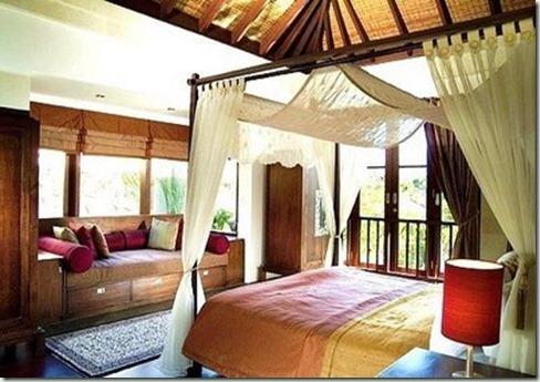 Decoração quarto com estilo Indiano