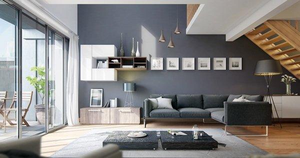 Dicas de cores da parede para sala moderna decorando casas for Arredamento sala moderna