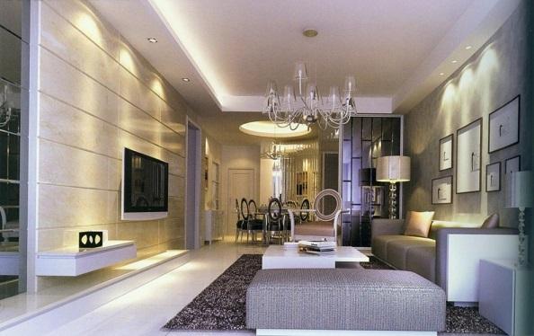 Iluminação para sala de estar e jantar