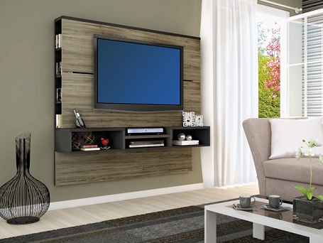 Painel de TV planejado para sala