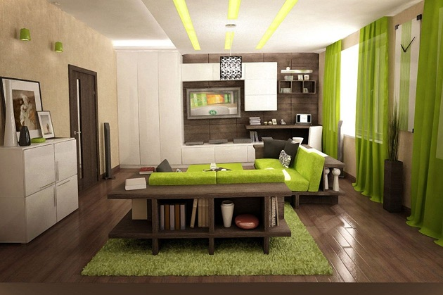 Tipos de decoração para interiores 2016