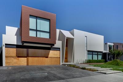 Fachadas coloridas para casas modernas