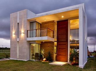 fachadas coloridas para casas modernas decorando casas