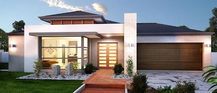 Fachadas De Casas Com Pedras E Vidros Decorando Casas