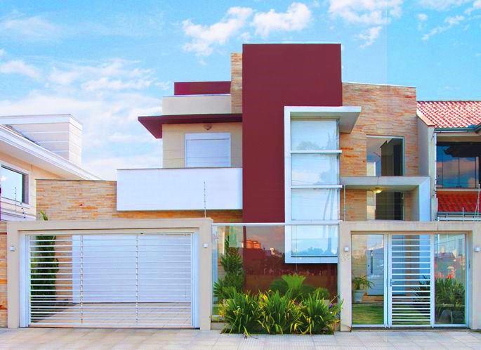 Fachadas de casas modernas 2016