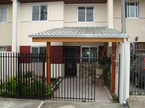 Garagem simples barata e bonita decorando casas for Garajes para carros