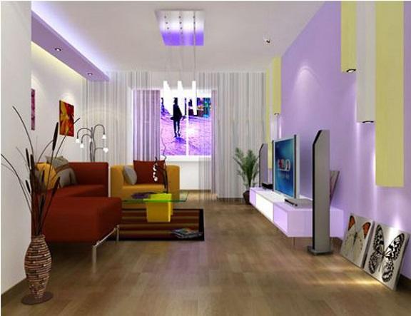 Pisos para salas pequenas e modernas