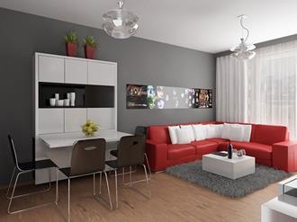 Pisos para salas pequenas e modernas decorando casas for Salas modernas 2016 pequenas