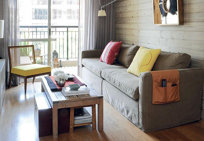 Sof Ideal Para Sala Pequena De Tv Decorando Casas