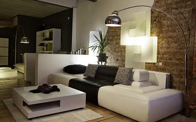Sofá ideal para sala pequena de tv