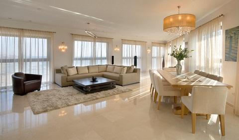 tipos de pisos para sala de estar e jantar decorando casas