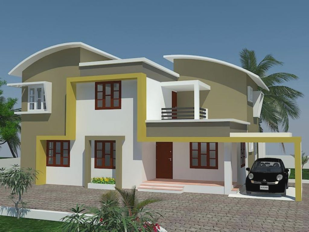 Awesome Indian House Exterior Painting Pictures Largest Home Design Picture Inspirations Pitcheantrous
