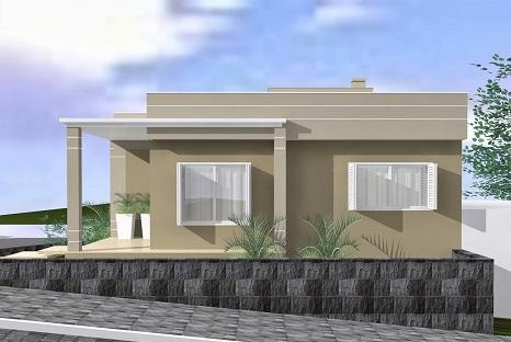 Cores para pintar casas externas decorando casas for Pinturas 2016 para casas