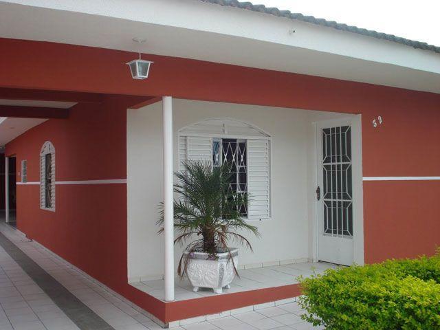 Cores para pintar casas externas decorando casas for Ver pinturas de interiores de casas