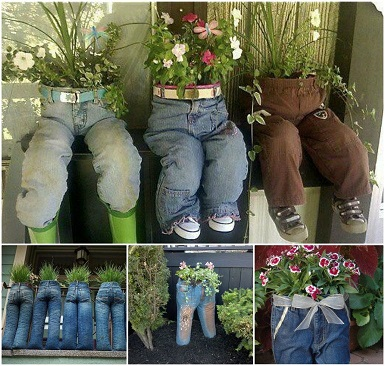 Como-fazer-um-jardim-com-materiais-reciclados