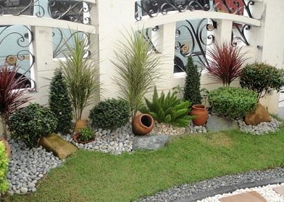 Como fazer um jardim com pouco espa o decorando casas - Home landscape design philippines ...