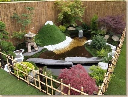 Como fazer um jardim japon s decorando casas - Small space landscape design style ...
