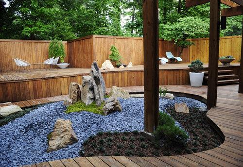 Como fazer um jardim japonês?  Decorando Casas
