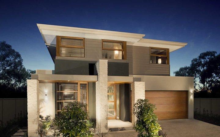 Cores para pintura externa de casas 2016 decorando casas for Cores modernas para fachadas de casas 2016