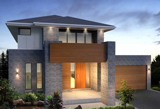 Fachadas de casas com pastilhas decorando casas for Decorando casa