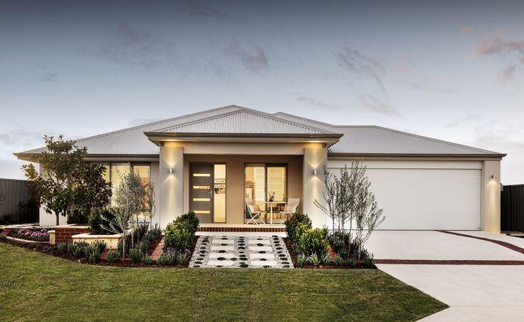 Front Elevation Designs Perth : Fachadas de casas modernas com telhado colonial