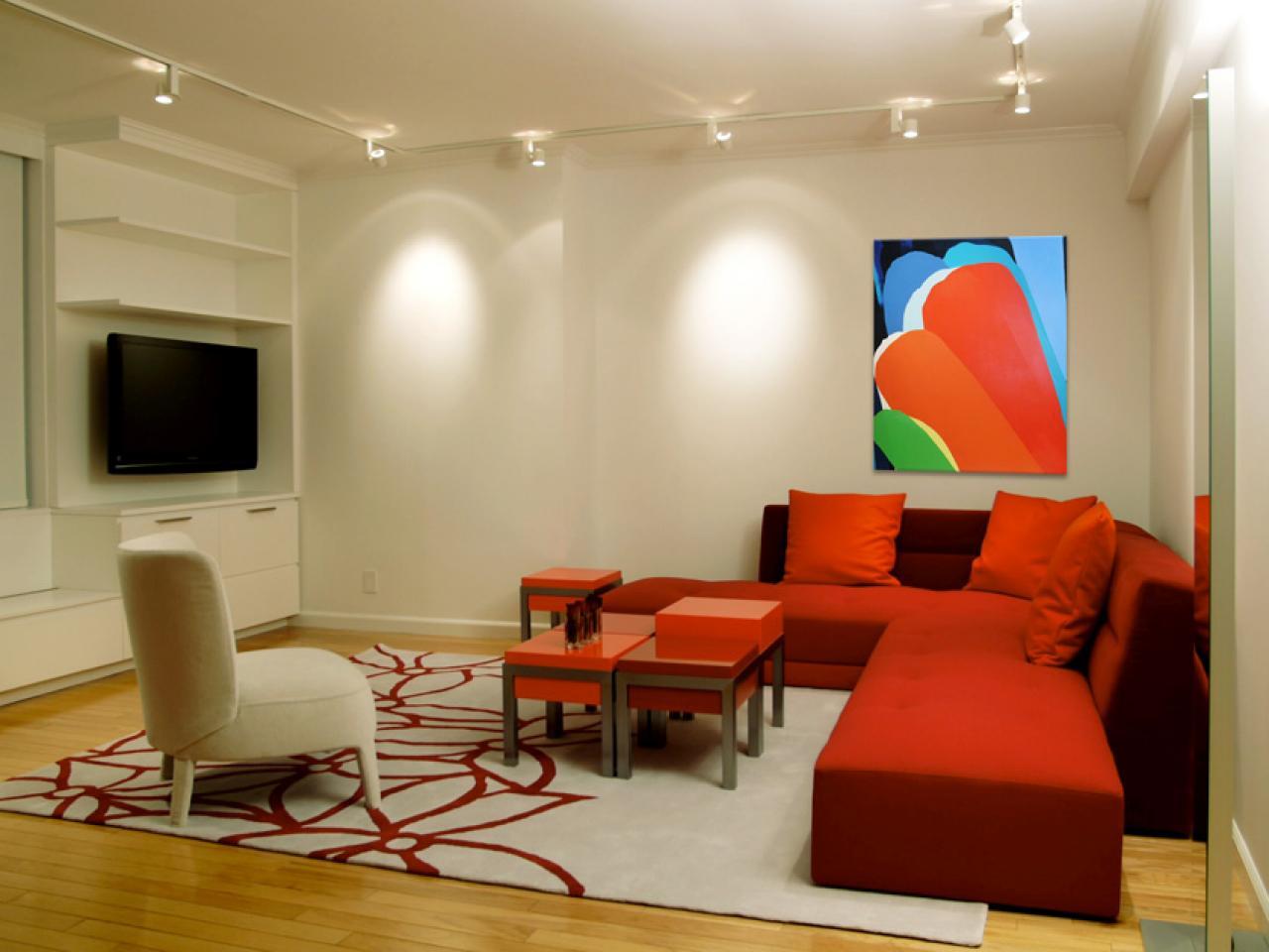 Sala De Tv Com Iluminacao ~ Iluminação ideal para sala de tv  Decorando Casas