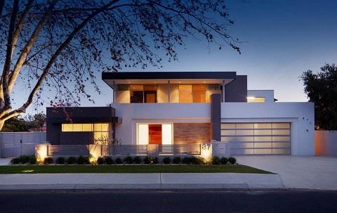 Fachadas de casas modernas 2 andares decorando casas for Fachadas modernas para casas 2016
