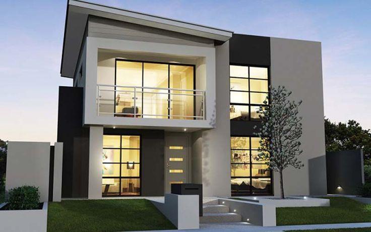 Fachadas de casas modernas 2 andares decorando casas for Fachadas de casas modernas pequenas de 2 pisos
