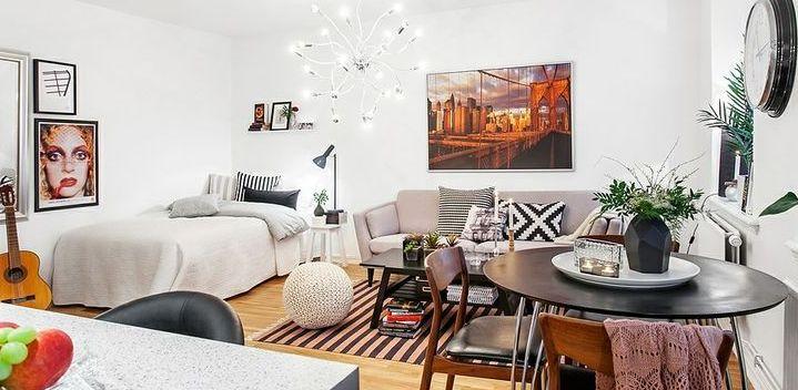 Como organizar apartamento pequeno decorando casas - Arredare studio ikea ...