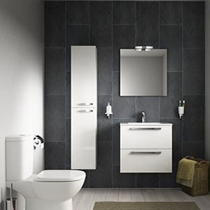 Decora o do banheiro de apartamento pequeno decorando casas for Small ensuite bathroom renovation ideas