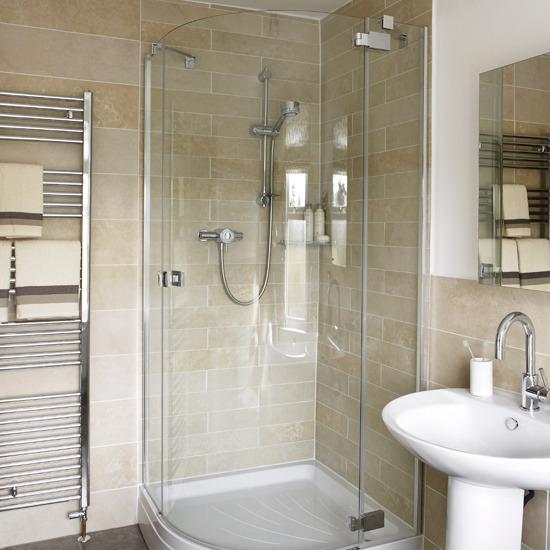 Decoração do banheiro de apartamento pequeno  Decorando Casas -> Banheiro Pequeno Alugado