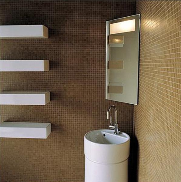decoracao banheiro pequeno apartamento:Decoração do banheiro de apartamento pequeno