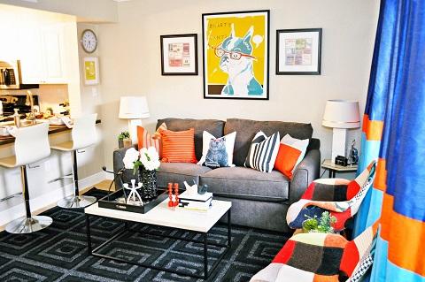 Decoração para apartamento de estudantes
