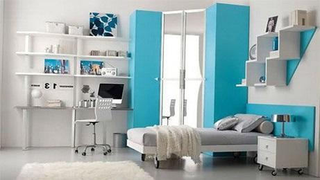 Decoração quarto de solteiro apartamento