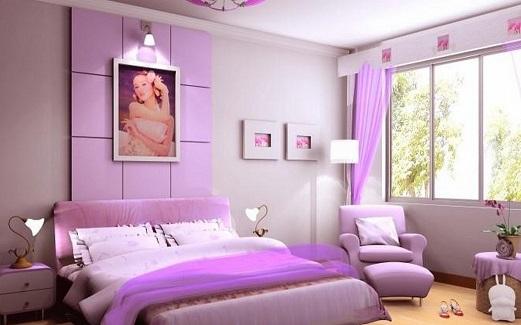 Decoração quarto de solteiro pequeno feminino Decorando  ~ Quarto Solteiro Pequeno Feminino