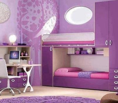 Decoração quarto de solteiro pequeno feminino