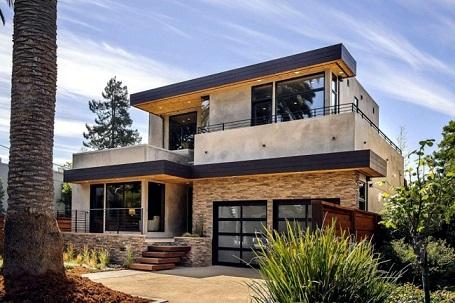 Fachadas de casas com cerâmica
