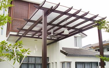 Garagem Com Telhado De Vidro Decorando Casas