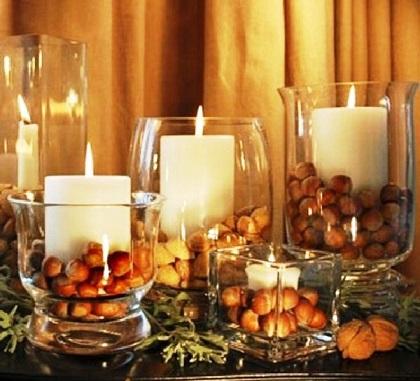 Como decorar apartamento com velas