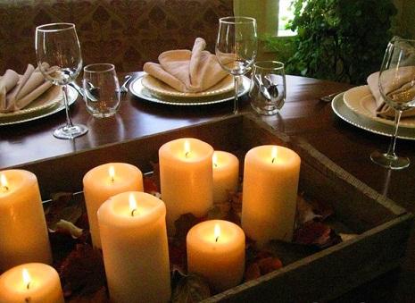 Como decorar apartamento com velas decorando casas - Como decorar velas ...