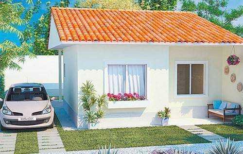 Decora o exterior de casas pequenas decorando casas - Plantas de exterior baratas ...