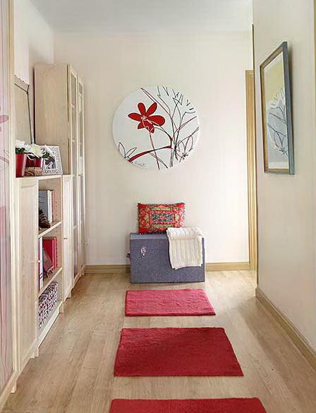 Decoração para corredor de apartamento
